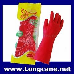 """12"""" Household Rubber Gloves / Rubber Household Gloves"""