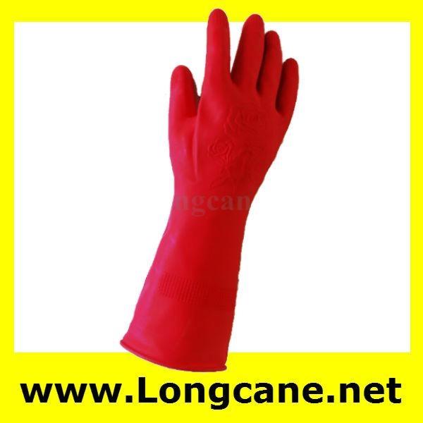 """12"""" Household Rubber Gloves / Rubber Household Gloves 2"""