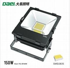 Daei brand to highlight the high cost LED floodlight 150W LED Flood Light LED si