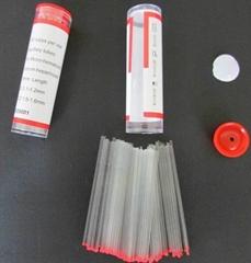 Glass Capillary Tubes with Na-Heparinized