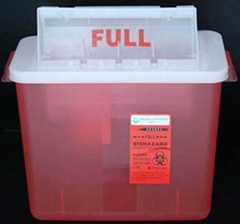 8QT Sharps Container