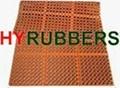 1524mm x 914mm x 19mm  Rubber mat