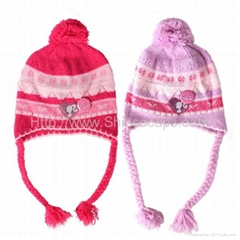 Warm Knitted  Beanies Winter Cap