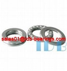 Single direction thrust ball bearings