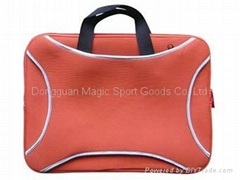 neoprene laptop bag with handle