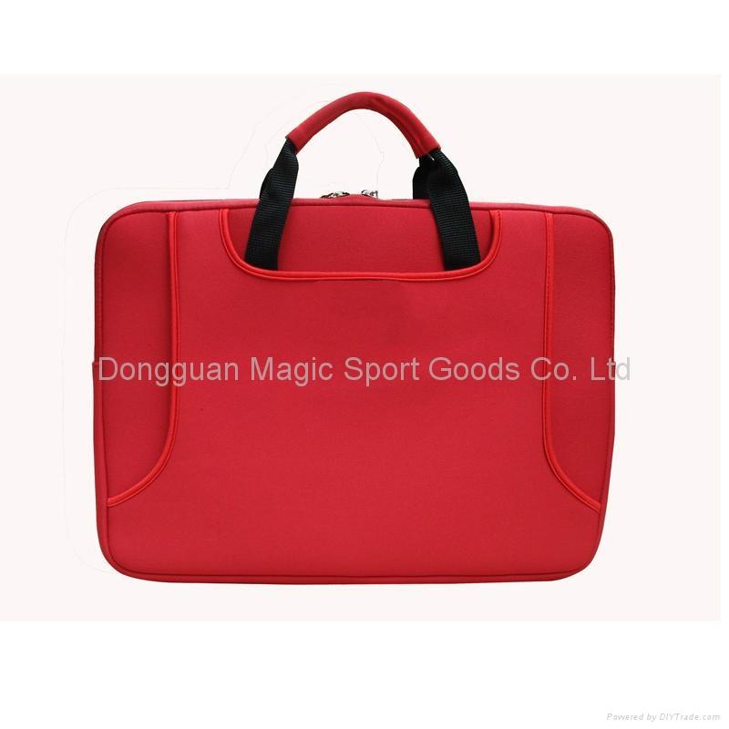 neoprene laptop bag with handle 2