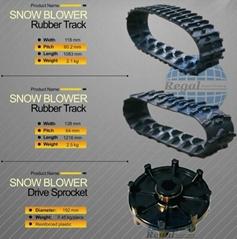 Mower/Small machine Rubber belt
