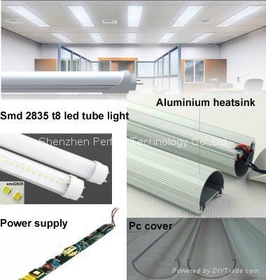 CE ROSH 2835smd Good Quality and Best Price LED T8 Tube Light 8w 10w 12w 15w 18w 2