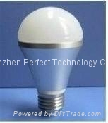 LED Bulb Light E27  GU10  MR16 E27 B22 E14 8W/9W/12W Samsung with CE ROSH 3