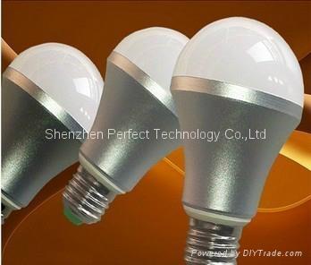 LED Bulb Light E27  GU10  MR16 E27 B22 E14 8W/9W/12W Samsung with CE ROSH 5