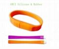 High-end Silicone USB Bracelet  2