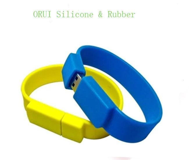 High-end Silicone USB Bracelet  3