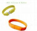 High-end Silicone USB Bracelet  5