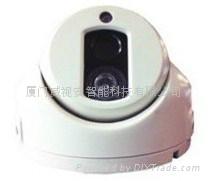 半球摄像头 监控摄像头 高清 点阵半球 红外夜视 海螺型 800线