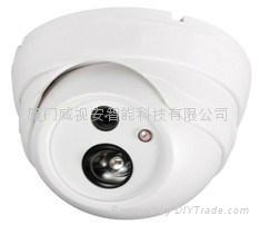 高清900线 单灯点阵半球摄像机 监控半球红外摄像机 阵列摄像机