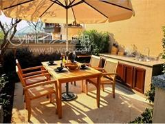 花园实木家具