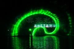 水幕噴泉激光燈