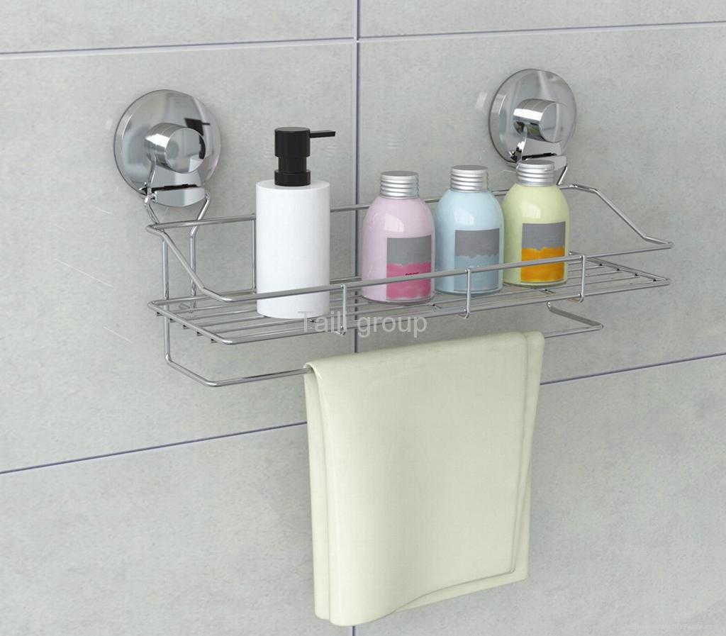 Suction bathroom rack 1