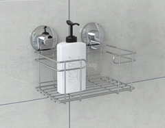 Suction laundry supplier basket