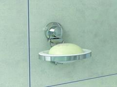 Suction soap holder