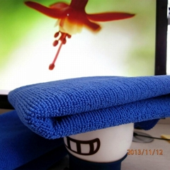 microfiber 100% polyester towel fabric/towel cloth