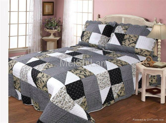 Wholesale Bedding Quilt Cotton Patchwork Quilt 5