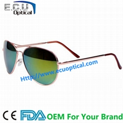 Custom japanese designer uv400 best cheap polarized&mirror sunglasse