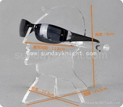 Acrylic glasses display stands