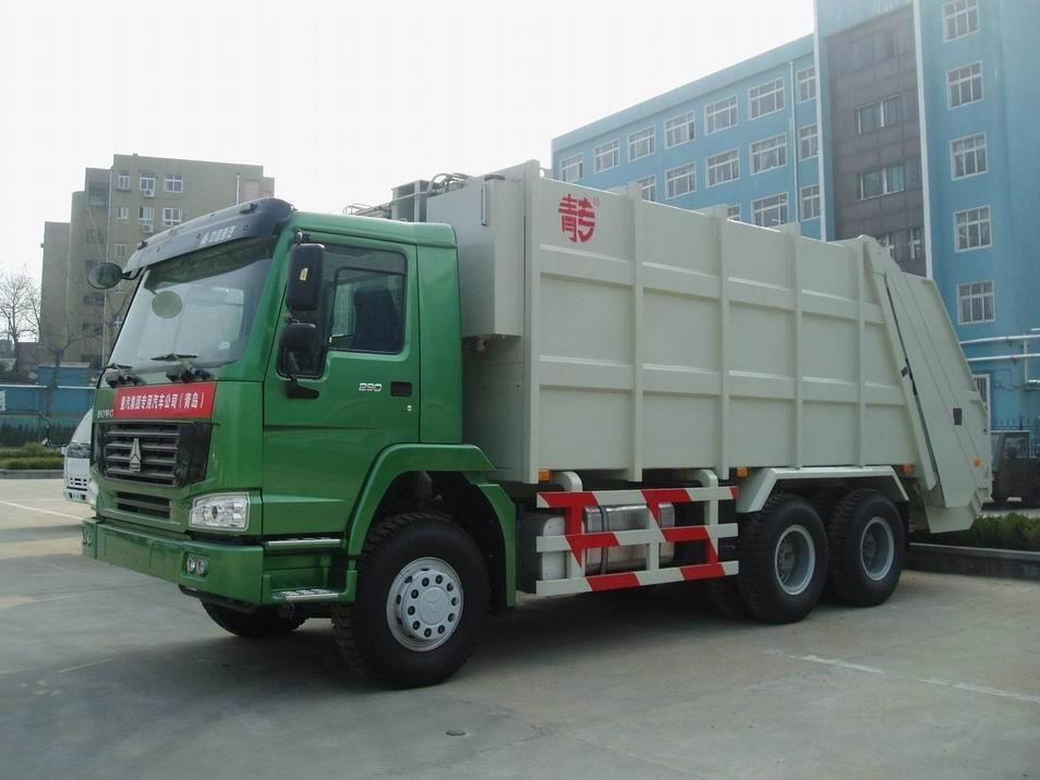 china garbage truck 2