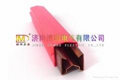 Single-pole Copper conductor rail