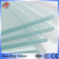 Tempered Glass with ISO CE&BV Glass Tempered