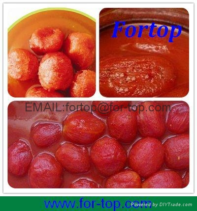 Canned Peeled Tomato Whole in Juice 1