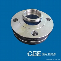 "UNI2282 Stainless Steel A182 316L 14"" Slip On Flange"