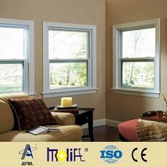 pvc window blind shade woodgrain