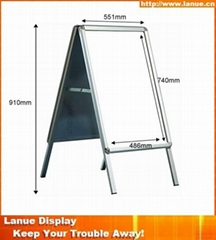 Wholesale aluminum outdoor poster stand display