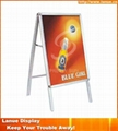 Wholesale aluminum outdoor poster stand