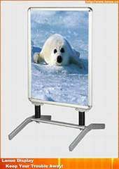 Wholesale aluminum water based poster stand display