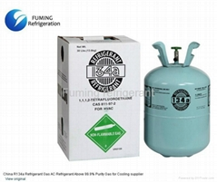 R134a Refrigerant Gas AC Refrigerant Above 99.9% Purity Gas for Cooling