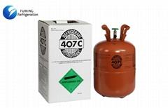 R407C Refrigerant Gas / Home Air Conditioner Refrigerants Disposable Cylinder