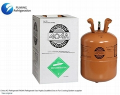 AC Refrigerant R404A Refrigerant Gas Highly Qualified Gas in For Cooling System