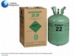 99.8% Purity R22 Refrigerant