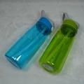650ML塑料吸管运动水壶 2