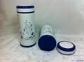 新款青花双层陶瓷保温杯 3