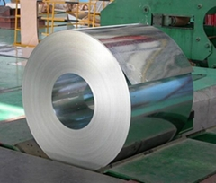 Q235 galvanized cold rolled steel coil in stock