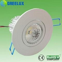 High power 5W COB LED Downlight  Epistar