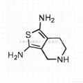 (s)-2,6-二氨基-4,5,6,7-四氢苯并噻唑 2