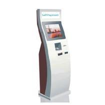 Self-service bill payment kiosk