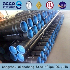 API 5L GR.B seamless carbon steel pipe used for gas and oil