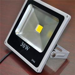 供應惠爾樂大功率LED投光燈LED氾光燈LED射燈,30W投光燈超薄爆款