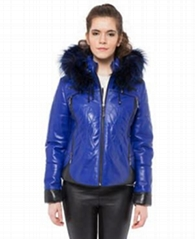 Valeriano Romano Leather Jacket